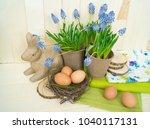Easter Decorative Composition...