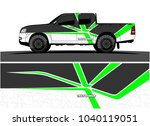 truck and vehicle graphic... | Shutterstock .eps vector #1040119051