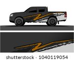 truck and vehicle graphic...   Shutterstock .eps vector #1040119054