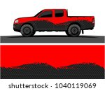 truck and vehicle graphic...   Shutterstock .eps vector #1040119069