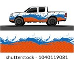 truck and vehicle graphic... | Shutterstock .eps vector #1040119081