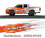truck and vehicle graphic... | Shutterstock .eps vector #1040119105