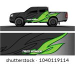 truck and vehicle graphic... | Shutterstock .eps vector #1040119114