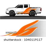 truck and vehicle graphic...   Shutterstock .eps vector #1040119117