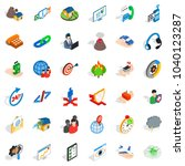 practical approach icons set.... | Shutterstock .eps vector #1040123287