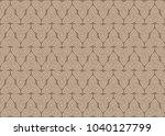 abstract seamless design... | Shutterstock .eps vector #1040127799