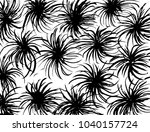 brush stroke pattern.... | Shutterstock .eps vector #1040157724