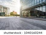 hangzhou town square | Shutterstock . vector #1040160244