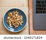 Some Cashew Nuts On Small Snack ...