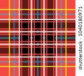 scottish cage  red celtic.... | Shutterstock .eps vector #1040180971