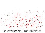 dark red vector template with... | Shutterstock .eps vector #1040184907