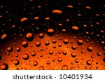 Abstract pattern with bubbles - stock photo
