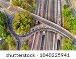 warringah freeway at multi...   Shutterstock . vector #1040225941