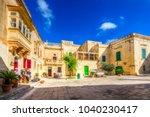 mdina  malta   november 11 ... | Shutterstock . vector #1040230417