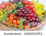 popular thai dessert in... | Shutterstock . vector #1040241991