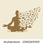 ayurveda the science of life | Shutterstock .eps vector #1040269345
