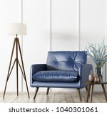 interior of living room with... | Shutterstock . vector #1040301061