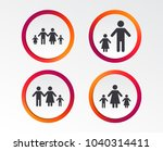 family with two children icon.... | Shutterstock .eps vector #1040314411
