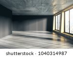 modern empty unfurnished office ... | Shutterstock . vector #1040314987