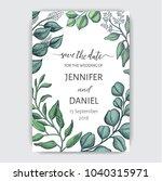 card for wedding invitation....   Shutterstock .eps vector #1040315971