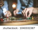 leisure games are good for... | Shutterstock . vector #1040332387