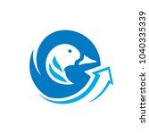 duck meat sign   Shutterstock .eps vector #1040335339