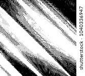 black and white grunge stripe... | Shutterstock .eps vector #1040336947