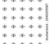 geometric ornamental vector... | Shutterstock .eps vector #1040359087