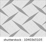 striped black diagonal lines ... | Shutterstock .eps vector #1040365105