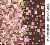 geometric confetti vector... | Shutterstock .eps vector #1040371861