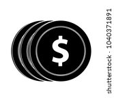 money vector symbol | Shutterstock .eps vector #1040371891