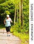 healthy active retirement... | Shutterstock . vector #1040373691