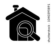 search home vector symbol | Shutterstock .eps vector #1040395891