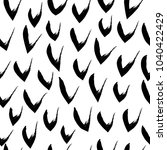 vector hand drawn black and... | Shutterstock .eps vector #1040422429