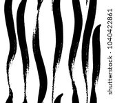 vector hand drawn black and... | Shutterstock .eps vector #1040422861