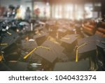 graduation day. commencement... | Shutterstock . vector #1040432374
