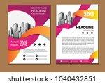 design cover book poster a4... | Shutterstock .eps vector #1040432851
