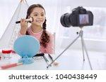 best tutorial. cheerful pre... | Shutterstock . vector #1040438449