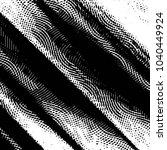 grunge halftone black and white ... | Shutterstock .eps vector #1040449924