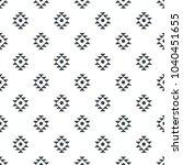 tribal seamless ethnic... | Shutterstock .eps vector #1040451655