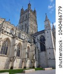 Small photo of Gloucester cathedral after recent regeneration