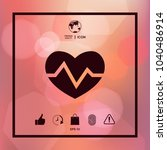 heart medical icon | Shutterstock .eps vector #1040486914