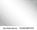 abstract halftone wave dotted... | Shutterstock .eps vector #1040489101