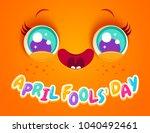 vector illustration of cute... | Shutterstock .eps vector #1040492461