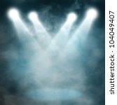 Spotlight Blue On Smog...