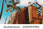 honolulu  hawaii  usa   circa... | Shutterstock . vector #1040494981