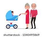 vector illustration of cartoon... | Shutterstock .eps vector #1040495869