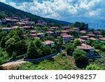 aerial view of palaios... | Shutterstock . vector #1040498257