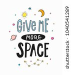 give me more space universe... | Shutterstock .eps vector #1040541289