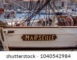 marseille  france  jan 30  a... | Shutterstock . vector #1040542984